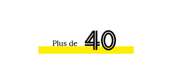 Plus de 40 intervenants ou participants